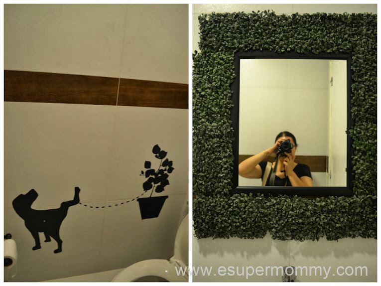 Neat Restroom Design at Harina Artisan Bakery and Cafe