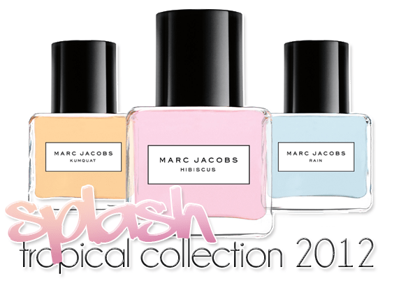 Nieuw: Marc Jacobs Splash – Tropical Collection 2012