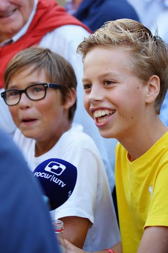jonge supporters bij WTV