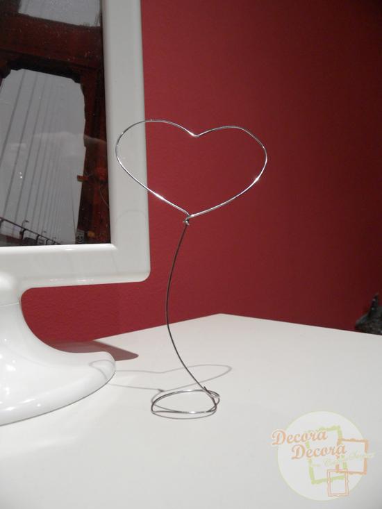 Decoración DIY para San Valentín.