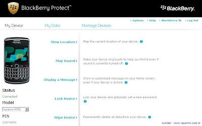 Lindungi dan Lacak BB dengan Blackberry Protect
