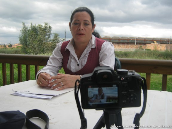 Dora Villalobos, Humedal La Vaca