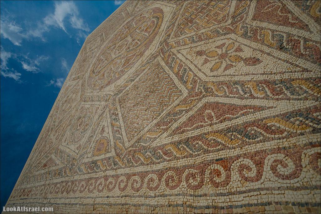 Музей мозаик Добрый Самаритянин | LookAtIsrael.com - Фотопутешествия по Израилю