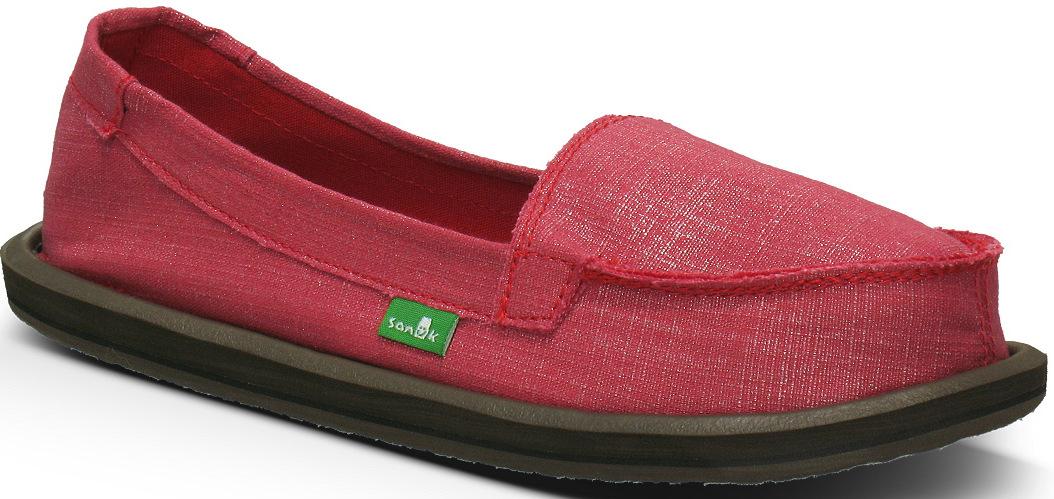 *天呀!瑜珈墊在鞋裡面!:Sanuk金屬絲質OHM MY懶人鞋! 4