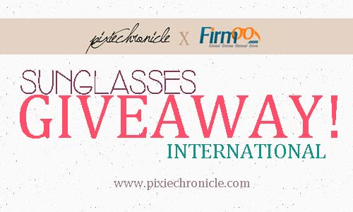 PixieChronicle X Firmoo Sunglasses Giveaway
