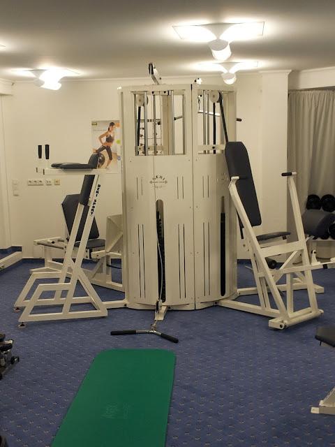 Ein weiterer Blick in den Fitnessraum