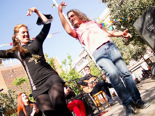 Festes de Prosperitat - Assaig al carrer