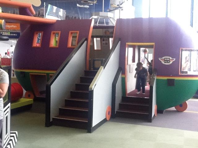 O'Hare airport in Chicago Children's area