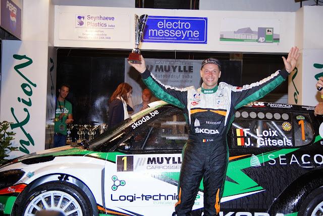 Freddy Loix, Belgisch Kampioen rally 2014