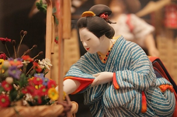 hakata machya museum fukuoka, fukuoka folk museum, japanese dolls