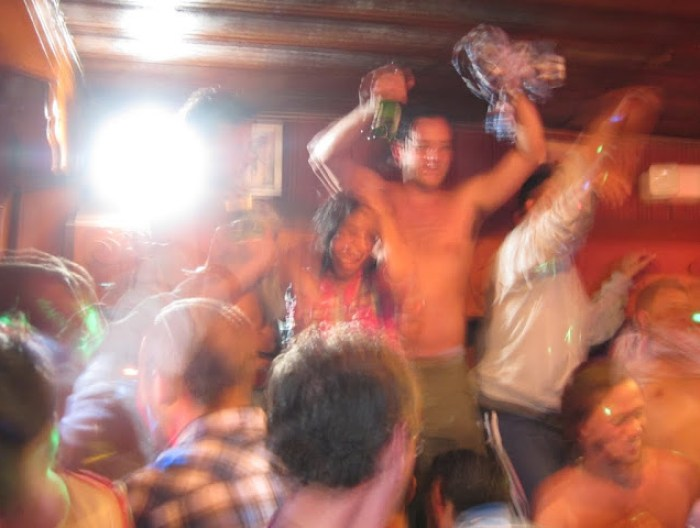Fiesta in Leprechaun, Baños, Ecuador