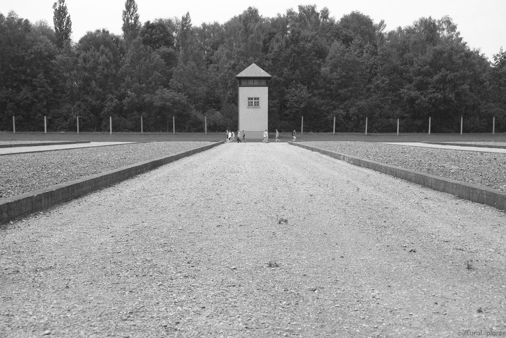 Dachau barracks original location