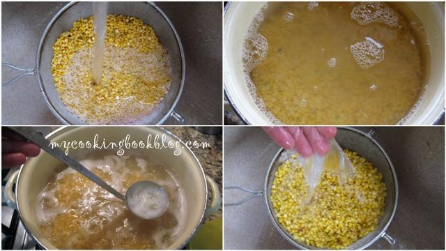 Фава или пюре от жълт сушен грах