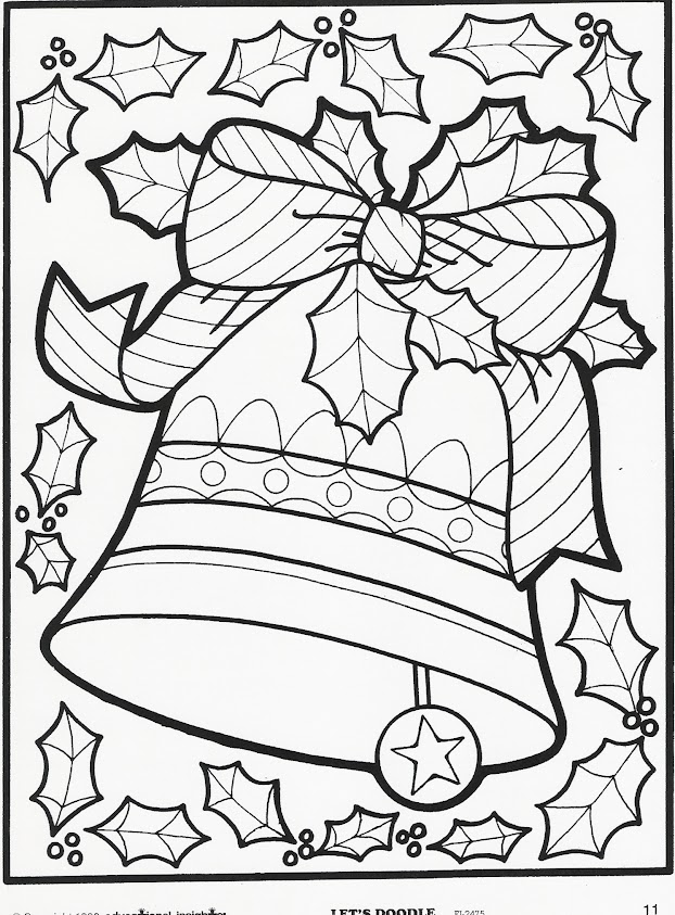 More Let's Doodle Coloring Pages! | Beyond the Toy Chest | free full size printable christmas coloring pages for adults
