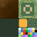 Leather-and-Gold Windowskin | RMVX/VXA