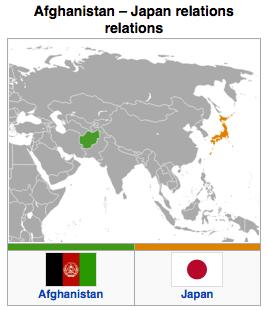 Japan - Afghanistan Relations