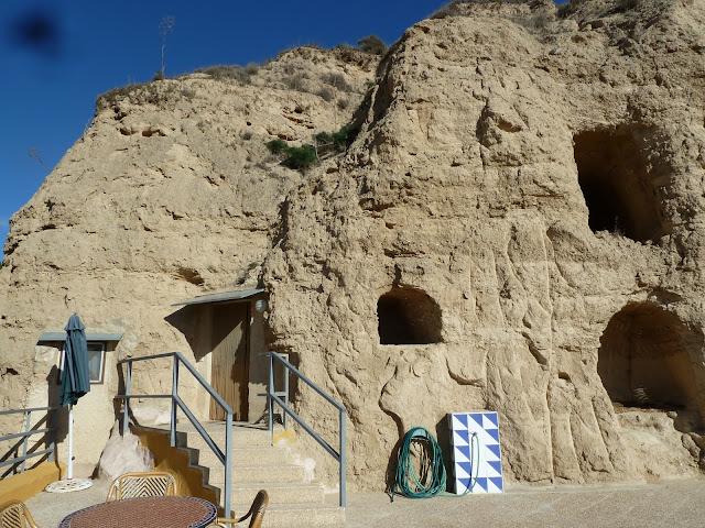 El exterior de la cueva