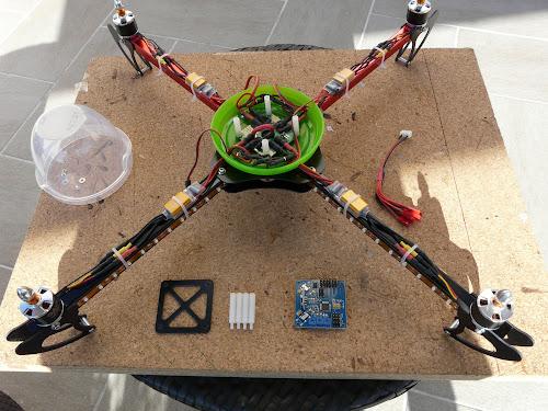 Quadcopter HobbyKing X550 (5/6)