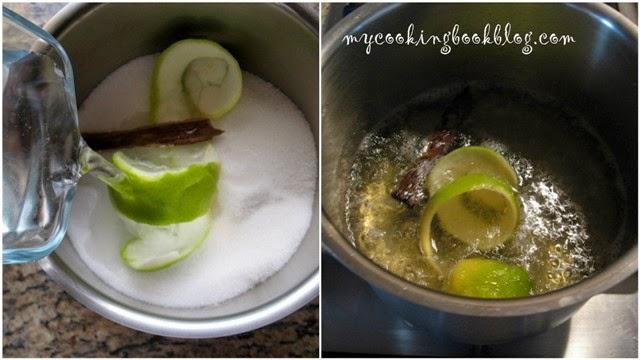 Галактобуреко (Γαλακτομπούρεκο) с лимон и канела