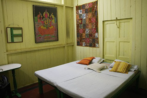 Ganapati guesthouse: hell room