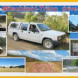 The Mitsubitshi - Triton drive test