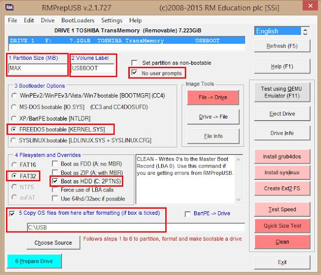Hướng dẫn tạo nhiều bộ cài Windows vào một USB 01