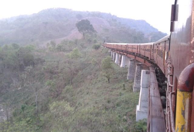 silchar lumding train line
