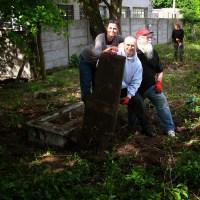 Prace na cmentarzu ewangelickim w Toruniu-Stawkach (II)