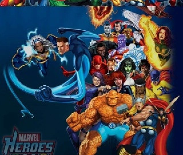 Marvel Heroes Lockscreen Homescreen Wallpapers