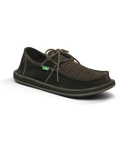 #Sanuk 麂皮民俗異材拼接:RAMBLER一孔鞋! 3