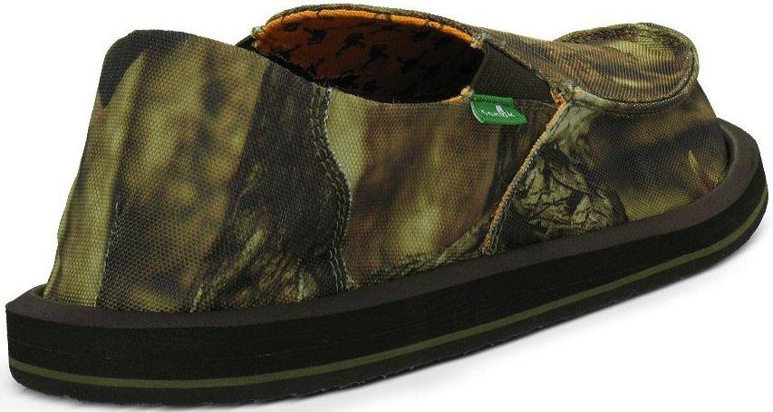 *SANUK x MOSSY OAK 迷彩聯名版懶人鞋:戰鬥登場! 6
