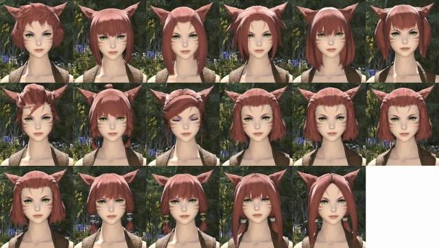 Miqo'te Female Hair