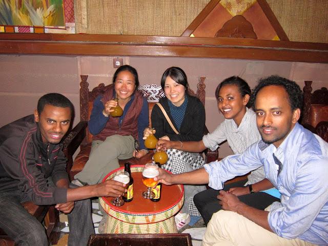 Habesha Restaurant, Addis Ababa, Ethiopia