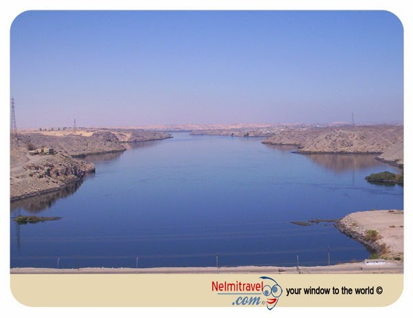 High Dam; Aswan; Aswan Governorate; Nile River Valley; Attractions Aswan; Egypt