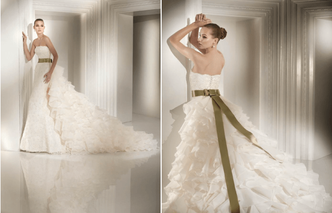 St. Patrick's Inspired Wedding Dresses