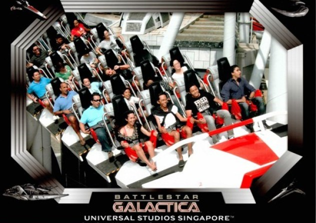 Galactica Universal Studio Singapore