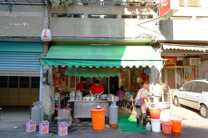 彰化鹿港小吃,林明堂素食麵-2