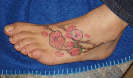 Cherry Blossom Tattoos