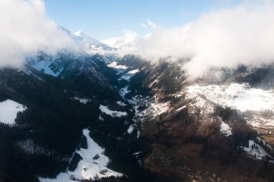 La Valcanale di Ardesio vista dall'alto (foto A.Bigoni)