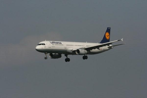 Ein A320 der Lufthansa