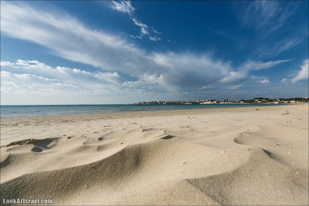 Одно фото берега Акко