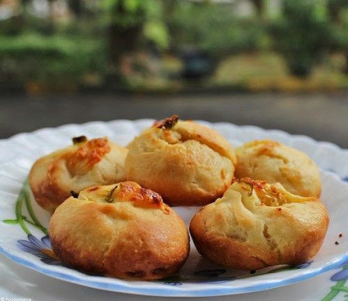 Garlic Chilli Rolls Recipe