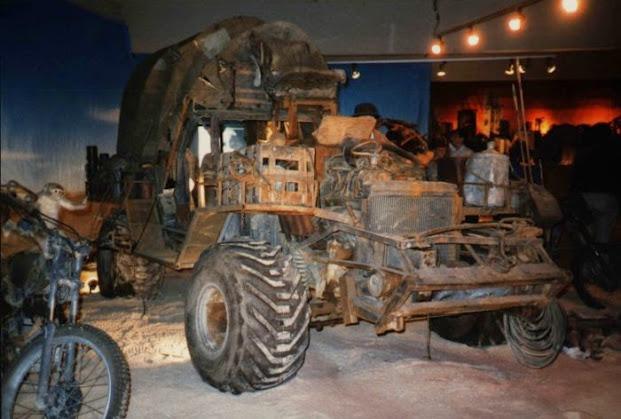 El vehículo con el que Mad Max empieza Beyond The Thunderdome.