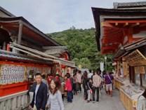 Part of the Kiyomizu-dera grounds