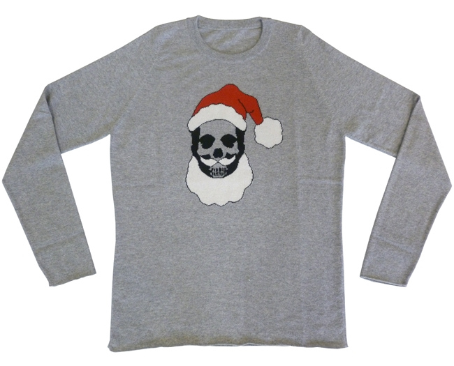 *喀什米爾之王Lucien Pellat-Finet:聖誕老人也變骷顱! 6
