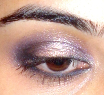 Purple And Gold Eye Makeup Look Of The