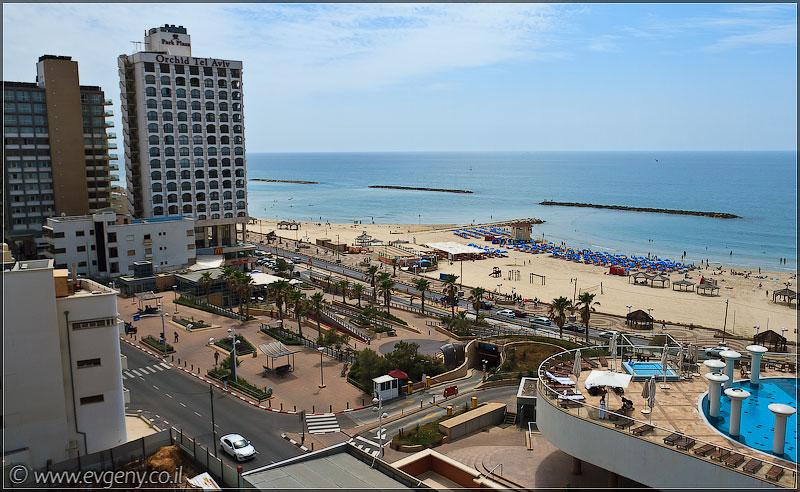 Тель Авив, набережная   Tel Aviv beach   חןף תל אביב
