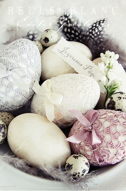 Cuatro ideas para inspirarte al decorar huevos de Pascua.