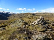 Gibson Knott looking to Calf Crag
