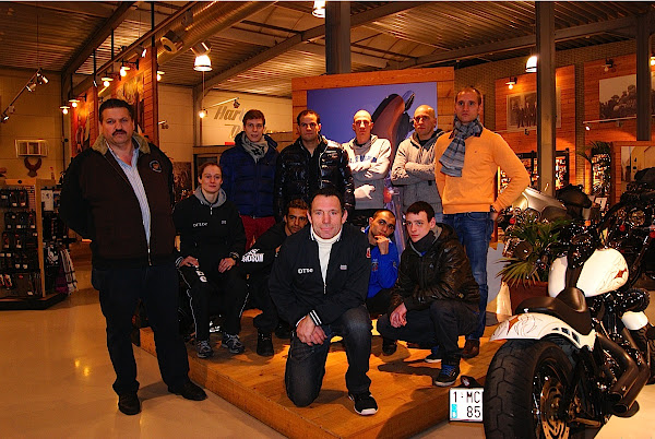 Persconferentie met boksers World Championship Boxing Roeselare